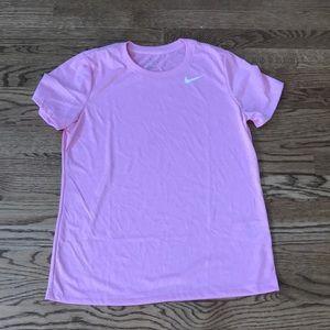 Pink nike shirt new
